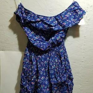 9205493f29d9 dELiA s Pants - Delias Blue Floral Romper